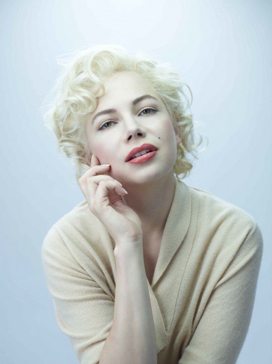 Michelle Williams as Marilyn Monroe for My Week with Marilyn photo