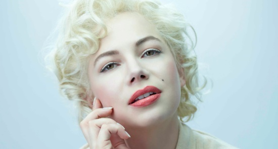 Michelle Williams as Marilyn Monroe photo