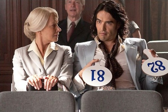 Arthur (2011) movie photo with Helen Mirren and Russell Brand