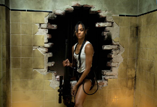 Colombiana movie photo | Zoe Saldana