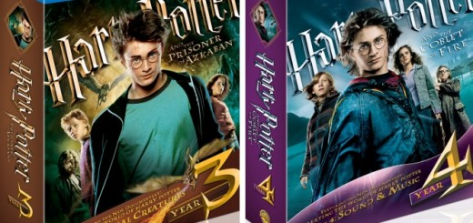 Harry Potter and the Prisoner of Azkaban and Harry Potter and the Goblet of Fire Ultimate Editions on Blu-ray