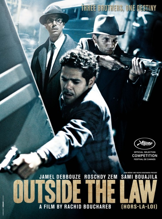 OUTSIDE THE LAW (HORS-LA-LOI) Movie Poster
