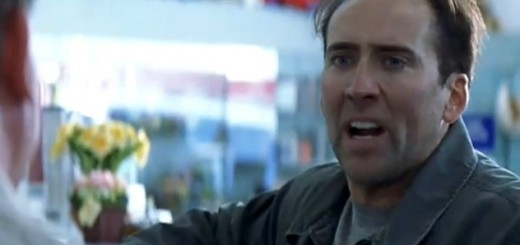 Nicolas Cage losing his shit