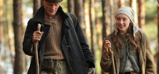 The Way Back movie photo with Ed Harris and Saoirse Ronan