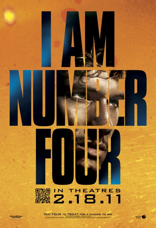 I AM NUMBER FOUR Movie Poster
