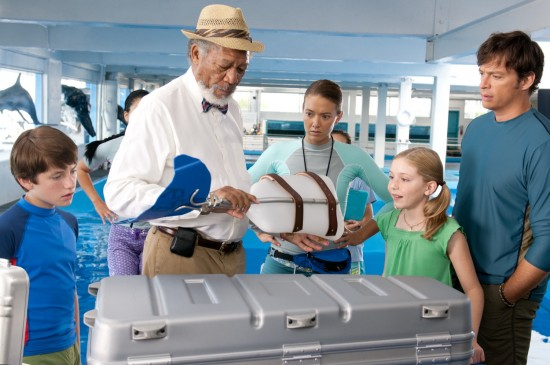 Dolphin Tale movie | Morgan Freeman