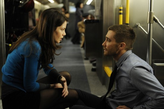 Michelle Monaghan and Jake Gyllenhaal in Source Code