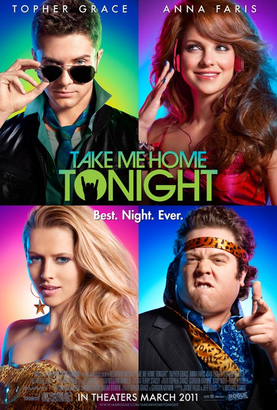 Take Me Home Tonight movie poster