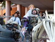 Battle: Los Angeles photo with Aaron Eckhart, Joey King, Ne-Yo, Michael Pena, Cory Hardrict, Jim Parrack