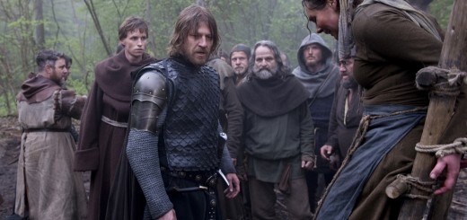 BLACK DEATH movie photo with Sean Bean and Eddie Redmayne