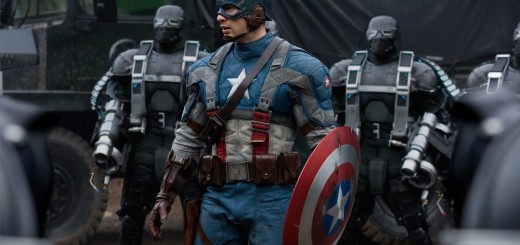 Captain America: The First Avenger movie photo with Chris Evans