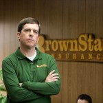 Cedar Rapids movie photo with Ed Helms