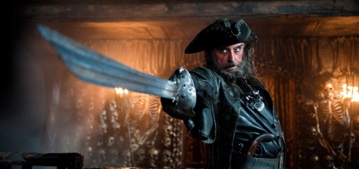 PIRATES OF THE CARIBBEAN: ON STRANGER TIDES photo with Ian McShane as Blackbeard