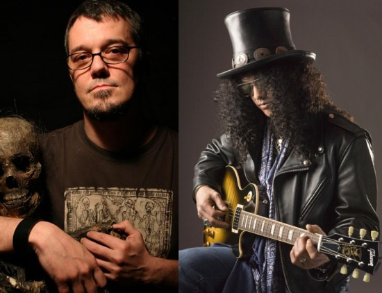 Steve Niles and Slash