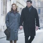 The Debt movie photo with Jessica Chastain and Sam Worthington