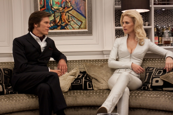 X-Men: First Class movie photo with Kevin Bacon and January Jones