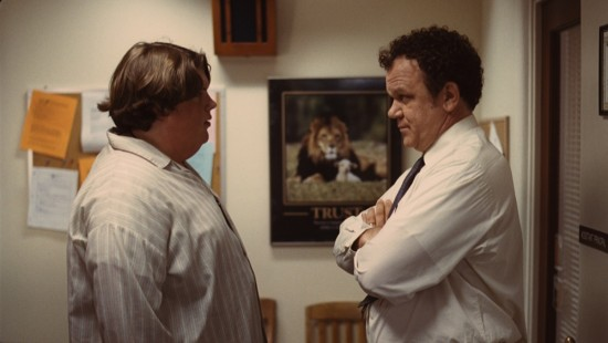 TERRI movie photo with Jacob Wysocki and John C. Reilly