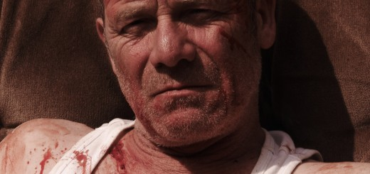 Tyrannosaur movie photo with Peter Mullan