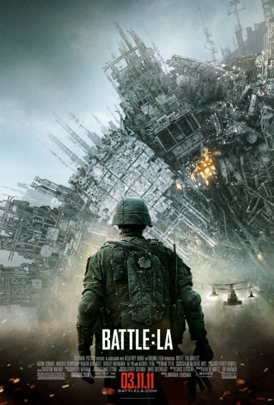 Battle Los Angeles movie poster