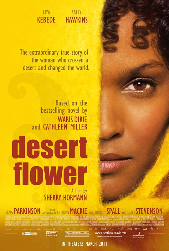 Desert Flower movie poster