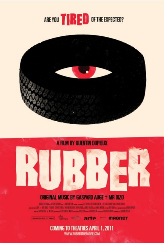 Rubber Movie poster2