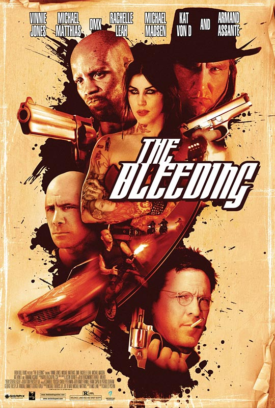The Bleeding movie poster