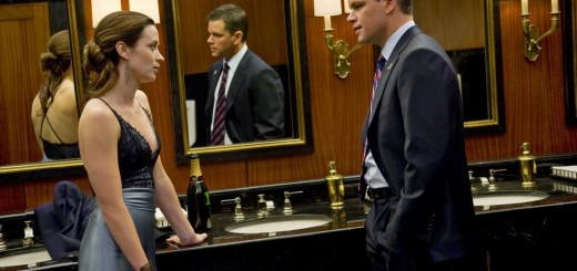 The Adjustment Bureau movie photo with Emily Blunt and Matt Damon