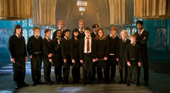 harry potter movie dumbledore's army