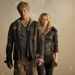 I AM NUMBER FOUR movie photo with Alex Pettyfer and Teresa Palmer