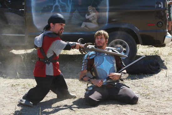 knights of badassdom movie photo with Peter Dinklage and Ryan Kwanten