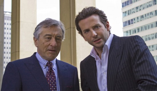 Limitless movie photo with Robert De Niro and Bradley Cooper