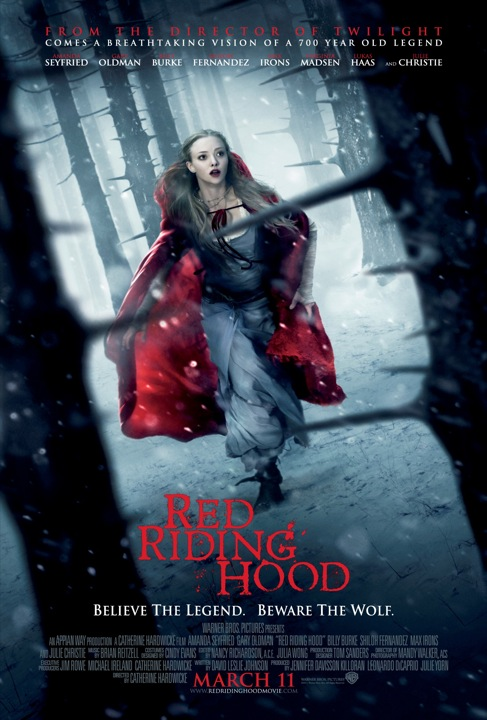 Red Riding Hood Movie poster