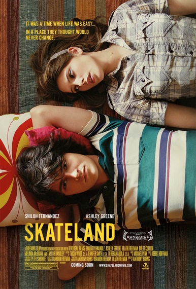 Skateland movie poster