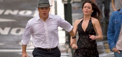 The Adjustment Bureau movie photo with Matt Damon and Emily Blunt