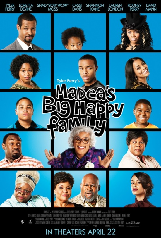 Tyler Perry Madeas Big Happy Family movie poster
