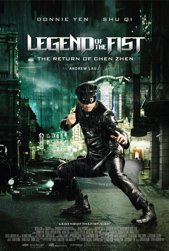 Legend of the Fist Movie Poster