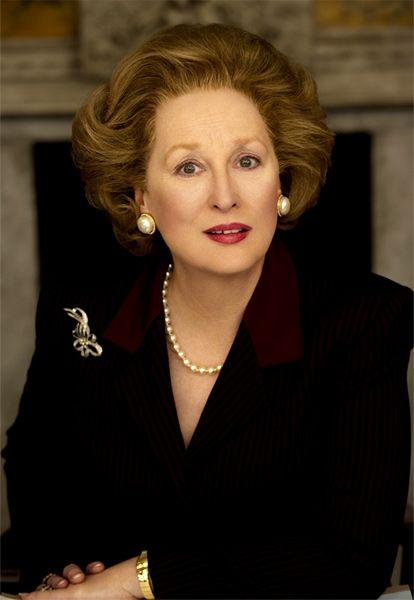 Meryl Streep as Margaret Thatcher in The Iron Lady pic