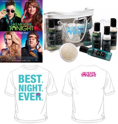 take me home tonight prize pack