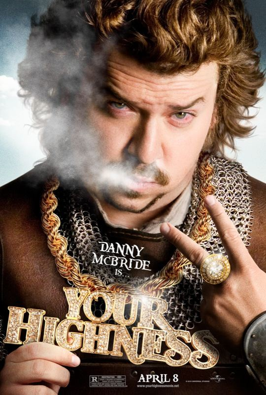 Your Highness poster Danny McBride