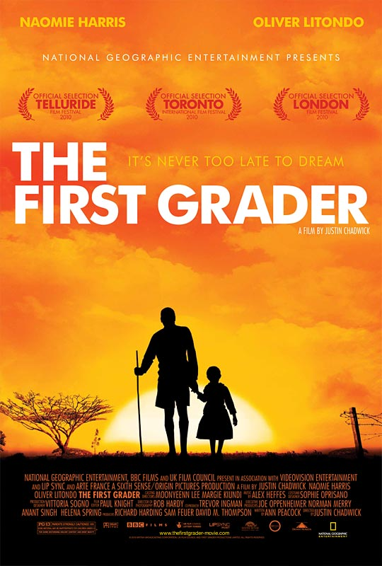 The First Grader movie poster