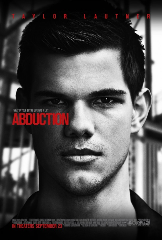 Abduction movie poster Taylor Lautner