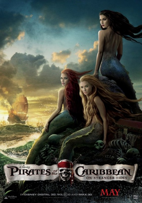 Pirates of the Caribbean Sirens poster