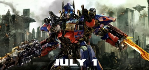 Transformers Dark of the Moon movie Optimus Prime billboard