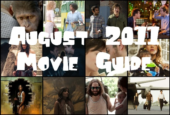 august 2011 movie guide