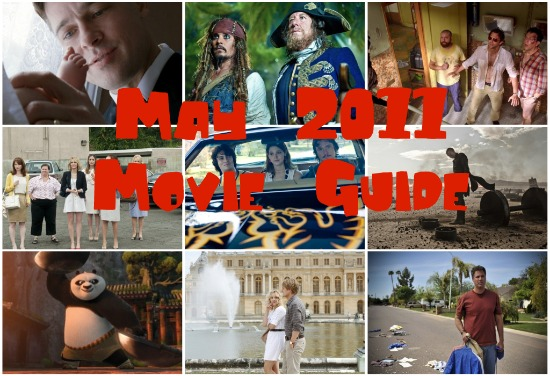 may 2011 movie guide