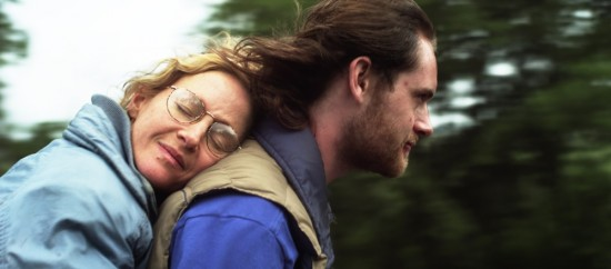 Rachael Harris and Matt O'Leary in Natural Selection