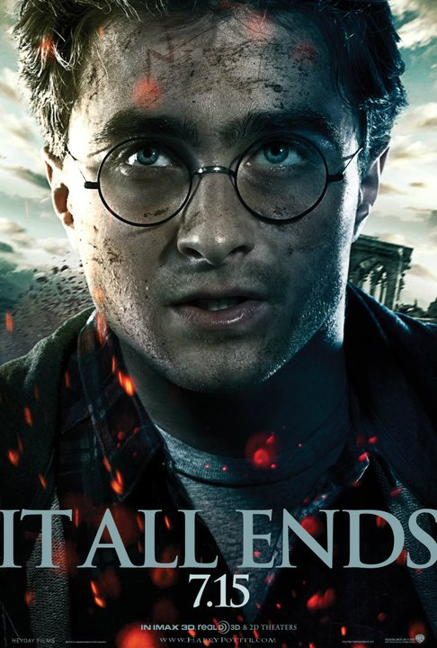 harry potter and the deathly hallows part 2 poster harry potter