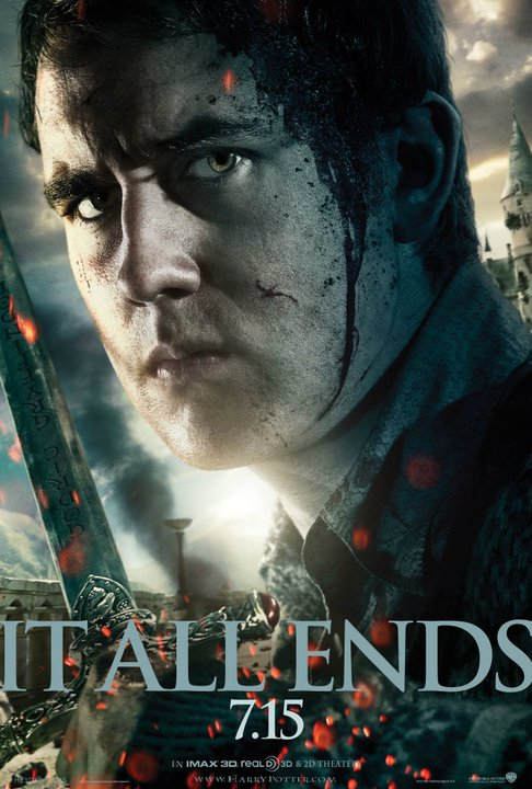 harry potter and the deathly hallows part 2 poster neville longbottom