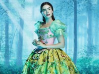 Lily Collins is Snow White