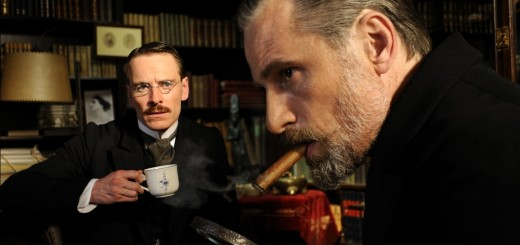 a dangerous method movie photo Michael Fassbender and Viggo Mortensen